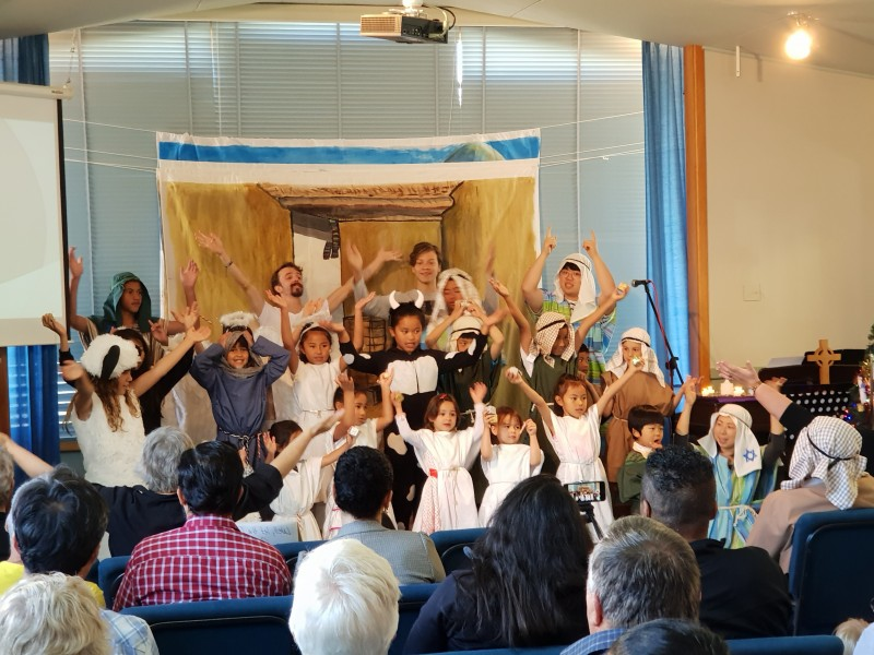 St Margaret's Animal nativity