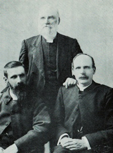 The first three ministers of the Wakatipu Parish