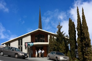 St Andrew's Presbyterian church queenstown new zealand