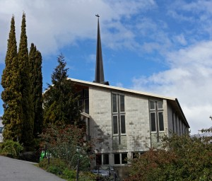 St Andrew's Presbyterian Church in Queenstown